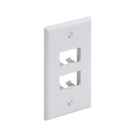 Panduit CFP4WH White switch plate/outlet cover