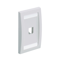 Panduit CFPE1EIY Grey switch plate/outlet cover