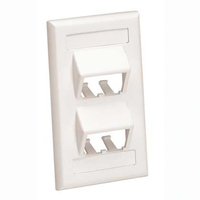 Panduit CFPSL4IWY White switch plate/outlet cover