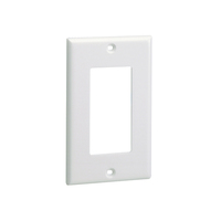 Panduit CPGIG White switch plate/outlet cover