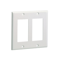 Panduit CPGIG-2G Grey switch plate/outlet cover