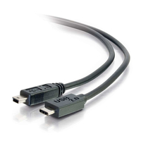 C2G 6ft, USB 2.0 Type C, Mini-USB B 1.8288m USB C Mini-USB B Male Male Black USB cable