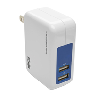 Tripp Lite U280-002-W12 Indoor Blue,White mobile device charger