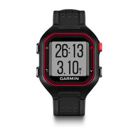 Garmin Forerunner 25 Black,Red sport watch