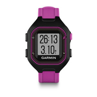 Garmin Forerunner 25 Black,Violet sport watch