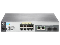 Hewlett Packard Enterprise Aruba 2530 8 PoE+ Internal PS Managed L2 Fast Ethernet (10/100) Power over Ethernet (PoE) 1U Grey