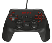 Trust GXT 540 Gamepad PC,Playstation 3 Zwart