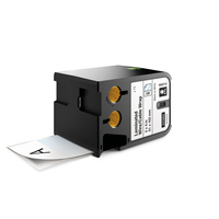 DYMO 1868712 Black on white label-making tape