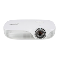 Acer Portable LED K138ST Portable projector DLP WXGA (1280x800) 3D White data projector