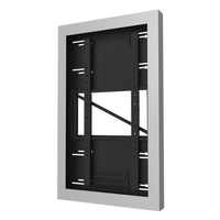 "Peerless KIP655-S 55"" Black,Metallic flat panel wall mount"