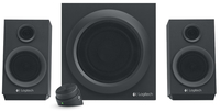 Logitech Z333 2.1channels 40W Black speaker set