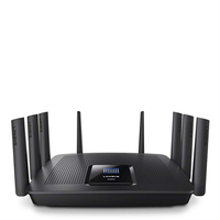 Linksys AC5400 Tri-band (2.4 GHz / 5 GHz / 5 GHz) Gigabit Ethernet Zwart draadloze router