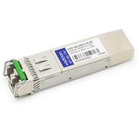 Add-On Computer Peripherals (ACP) SFPP-10G-DW17-ZR-AO Fiber optic 10000Mbit/s SFP+ network transceiver module
