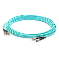 Add-On Computer Peripherals (ACP) ST-ST 3m 3m ST ST Turquoise fiber optic cable