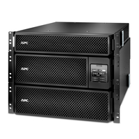 APC Smart-UPS Double-conversion (Online) 8000VA 18AC outlet(s) Rackmount/Tower Black uninterruptible power supply (UPS)