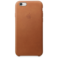 Apple Coque en cuir iPhone 6s - Havane