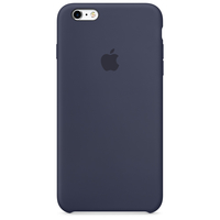 Apple Coque en silicone iPhone 6s - Bleu nuit