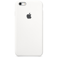 Apple Coque en silicone iPhone 6s - Blanc