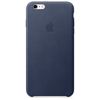 Apple Coque en cuir iPhone 6s Plus - Bleu nuit