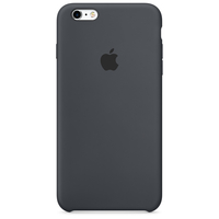 Apple Coque en silicone iPhone 6s Plus - Gris anthracite