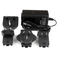 StarTech.com SVA5M3NEUA Indoor Black power adapter & inverter
