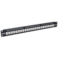 Tripp Lite N254-024-6A 1U patch panel