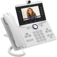Cisco IP Phone 8865 Wired handset Wi-Fi White IP phone