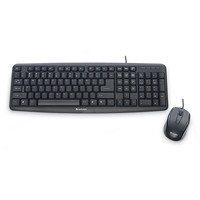 Verbatim Slimline USB USB QWERTY US International Black keyboard