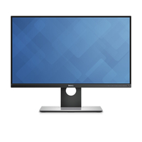 "DELL UltraSharp UP2516D 25"" Wide Quad HD IPS Matt Black,Silver computer monitor"