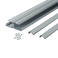 Panduit DRD22LG6 Straight cable tray Grey cable tray