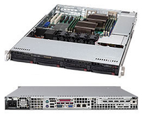 Supermicro CSE-815TQC-605CB Rack 600W Black computer case