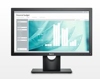 "DELL E Series E1916H 18.5"" HD TN Matt Black computer monitor LED display"