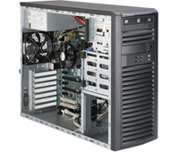 Supermicro 5039A-IL Intel C236 LGA 1151 (Socket H4) Midi-Tower Black
