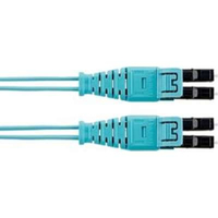 Panduit 3m, 2xLC 3m LC LC Turquoise fiber optic cable