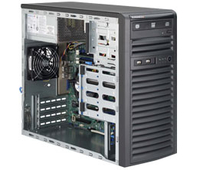 Supermicro 5039D-I Intel C232 LGA 1151 (Socket H4) E3-1200 Midi-Tower Black