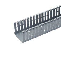 Panduit F4X4LG6 Straight cable tray Grey cable tray