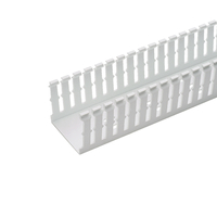 Panduit F4X4WH6 Straight cable tray White cable tray