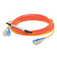 Add-On Computer Peripherals (ACP) SC - SC, 2m 2m SC SC Orange fiber optic cable