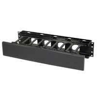 C2G 14597 Rack Cable tray Black cable organizer