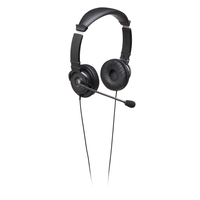 Kensington K33323WW Binaural Head-band Black headset