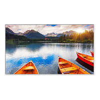 "NEC MultiSync X555UNV Digital signage flat panel 55"" LCD Full HD Black signage display"
