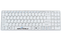 Seal Shield Cleanwipe RF Wireless QWERTY US English White keyboard