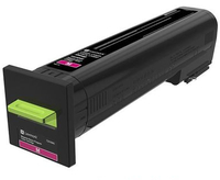 Lexmark 24B6718 13000pages Magenta laser toner & cartridge