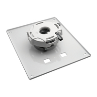 NEC PA600CM Ceiling White project mount