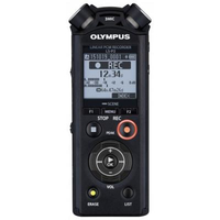 Olympus LS-P2 Internal memory & flash card Black dictaphone