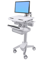 Ergotron StyleView Flat panel Multimedia cart White