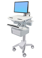Ergotron StyleView Flat panel Multimedia cart Grey