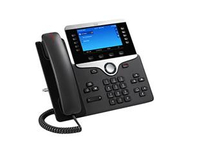 Cisco 8851 Wired handset Black IP phone