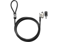 HP Keyed Cable Lock 10 mm 1.83m Black cable lock