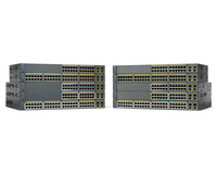 Cisco Catalyst WS-C2960+24LC-L-RF Managed L2 Fast Ethernet (10/100) Power over Ethernet (PoE) Black network switch